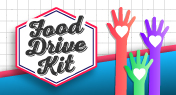 HOST A NEIGHBORHOOD FOOD DRIVE