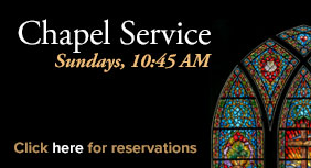 Chapel Is Open For Services